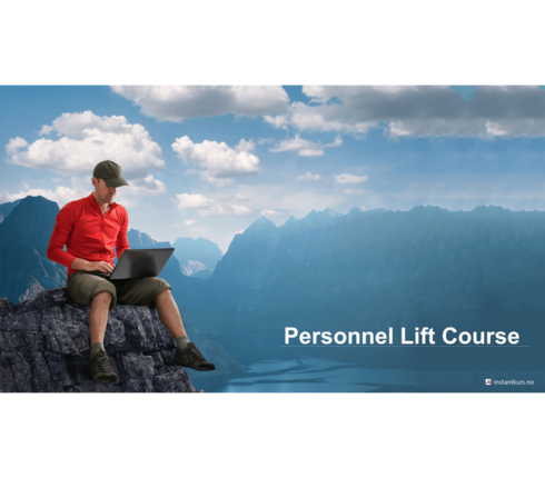 Personnel lift course 1