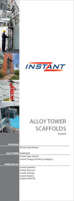 Alloy Tower Scaffolds en photo